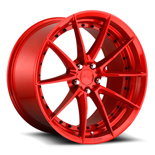 "Niche M213 Sector 5x114.3 20"" Gloss Red Wheels"