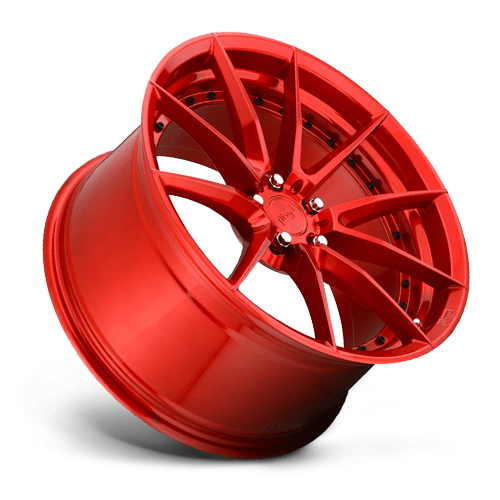 "Niche M213 Sector 5x120 20"" Gloss Red Wheels"