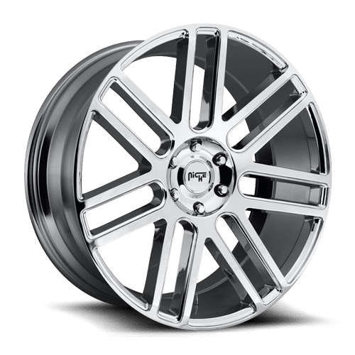 "Niche M098 Élan 5x127 20x9.0"" +35mm Offset Chrome Wheels"