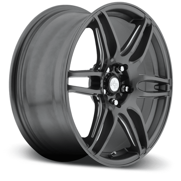 "Niche M105 NR6 5x100/114.3 17x7.5"" +45mm Offset Matte Gunmetal Wheels"