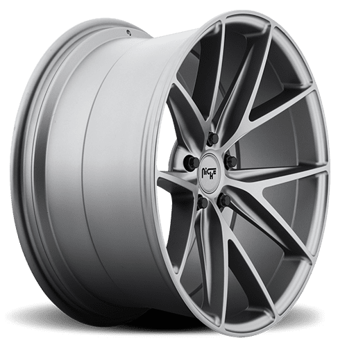 "Niche M116 Misano 5x120 19x8.5"" +50mm Offset Matte Gunmetal Wheels"