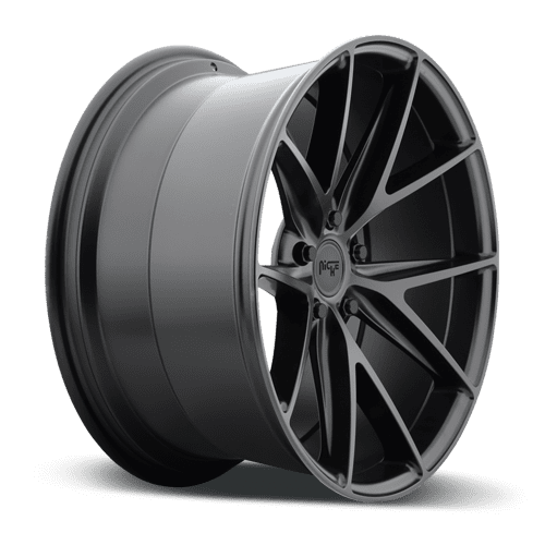 "Niche M117 Misano 5x114.3 17x8.0"" +40mm Offset Matte Black Wheels"