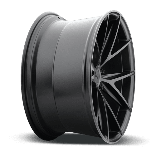 "Niche M117 Misano 5x100 18x8.0"" +40mm Offset Matte Black Wheels"