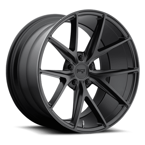 "Niche M117 Misano 5x127 20x9.0"" +35mm Offset Matte Black Wheels"