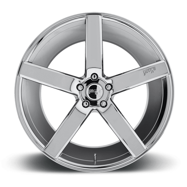 "Niche M132 Milan 5x120 20x8.5"" +35mm Offset Chrome Wheels"