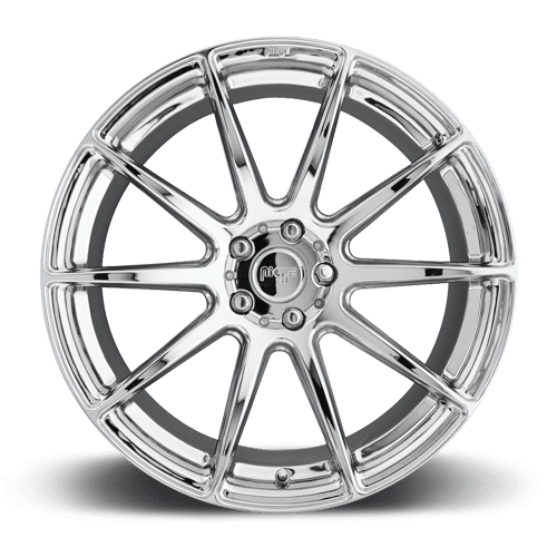"Niche M148 Essen 5x120 19x8.5"" +35mm Offset Chrome Wheels"