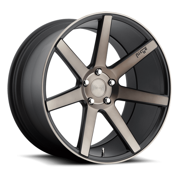 "Niche M150 Verona 5x100 18"" Black & Machined Wheels"
