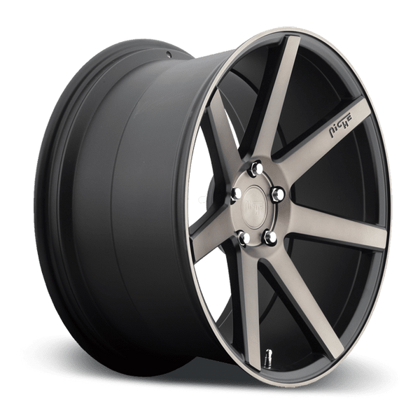 "Niche M150 Verona 5x120 22"" Black & Machined Wheels"