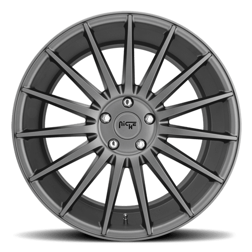 "Niche M157 Form 5x120 20x10.0"" +40mm Offset Matte Gunmetal Wheels"