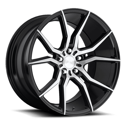 "Niche M166 Ascari 5x112 19"" Brushed / Gloss Black Wheels"