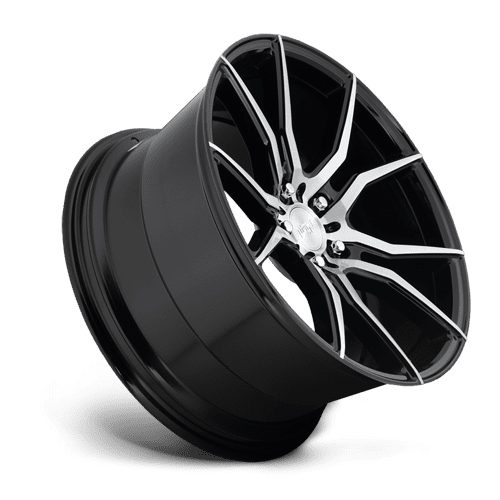 "Niche M166 Ascari 5x114.3 19"" Brushed / Gloss Black Wheels"