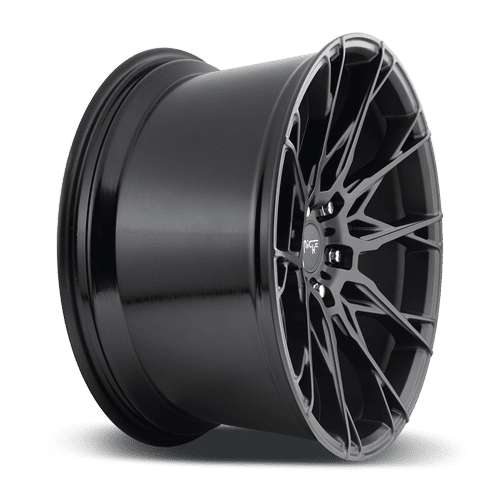 "Niche M183 Staccato 5x112 18x8.5"" +35mm Offset Matte Black Wheels"
