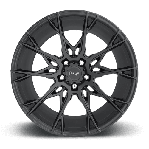 "Niche M183 Staccato 5x114.3 19"" Matte Black Wheels"