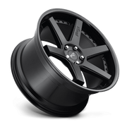 "Niche M192 Altair 5x127 22"" Matte Black w/ Gloss Black Lip Wheels"