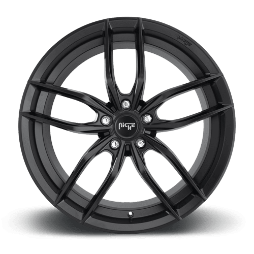 "Niche M203 Vosso 5x115 18x8.0"" +40mm Offset Matte Black Wheels"