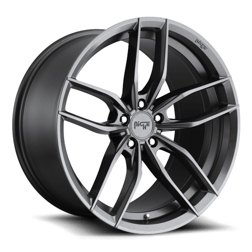 "Niche M204 Vosso 5x127 22x10.5"" +40mm Offset Matte Anthracite Wheels"