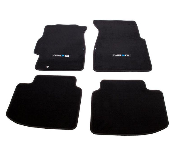 NRG Floor Mats - 96-00 Honda Civic 2DR w/ NRG Logo - Modern Automotive Performance