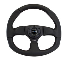 NRG 320mm Sport Leather Steering Wheel Oval
