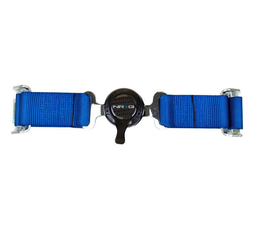 NRG 4 Point Seat Belt Harness / Cam Lock- Blue