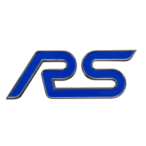 "Ford OEM ""RS"" Front Grille/Rear Hatch Emblem 