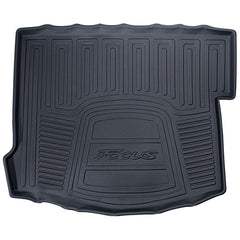 Ford OEM Rubber Trunk Mat | 13-18 Ford Focus ST / 16-18 Focus RS (CM5Z-6111600-HA)