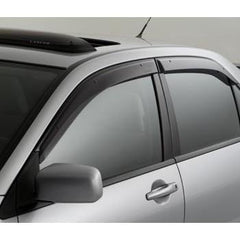 Genuine OEM Side Window Deflectors | 2003-2006 Mitsubishi Evo 8/9 (MZ562845EX)