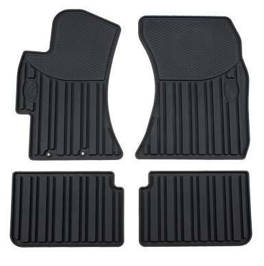 Subaru OEM All Weather Floor Mat Set | 2008-2014 Subaru Impreza WRX / WRX STi (J501SFG200)
