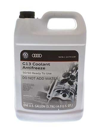 VW/Audi OEM G13 Coolant / Antifreeze - 1 Gallon | Multiple VW/Audi Fitments (G013A8J1G)