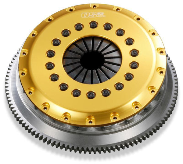 OS Giken R-Series Triple Plate Floating Center Clutch Kit | Mitsubishi EVO 4-9 (MT031-CH5)