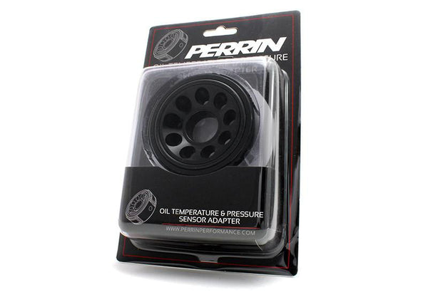 Perrin Oil Temperature & Pressure Adapter | Multiple Fitments (ASM-GAU-100)