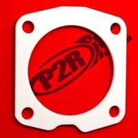 P2R Thermal Throttle Body Gaskets / Honda/Acura 06+ Civic Si 70mm