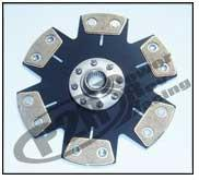 P2R Drivetrain Components / Honda/Acura 6 Puck Clutch - 03 Acura CL-S, 04-06 Acura TL* - Modern Automotive Performance