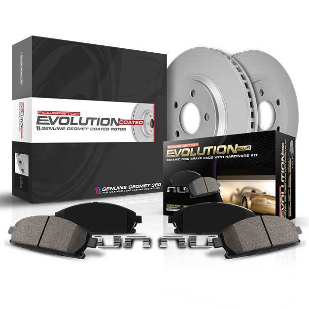 Fit Subaru XV Crosstrek Forester Rear  Blank Brake Rotors+Ceramic Brake Pads