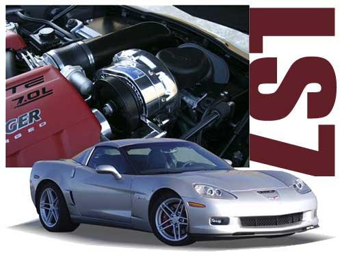 ProCharger Air-to-Air Intercooled Supercharger (Corvette C6 Z06 LS7)