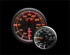 Prosport 45mm Electric Boost Gauge (175CLSMARBO-R.PSI)