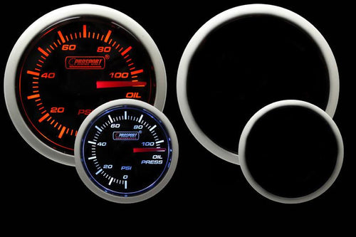 Prosport Performance 52mm Oil Pressure Gauge (216BFWAOPSM.PSI)