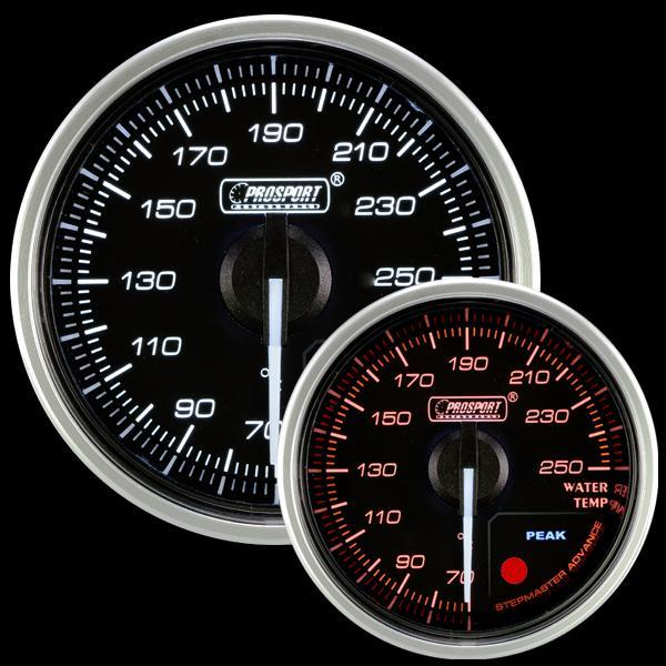 Prosport 52mm Supreme Electrical Water Temp. Gauge (216CLSDWAWTU-R.F)