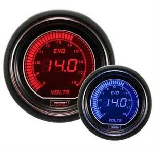 Prosport Evo Series 52mm Electrical Digital Volt Gauge - Modern Automotive Performance