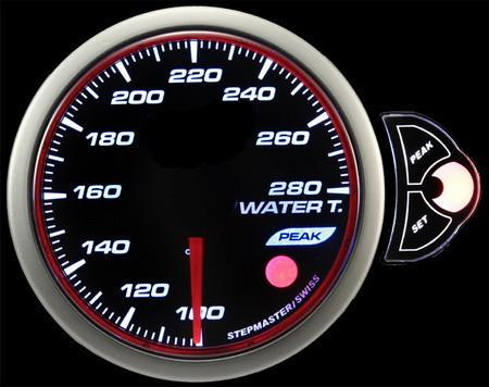 Prosport Halo Series 52mm 3-Color Water Temp Gauge - Modern Automotive Performance