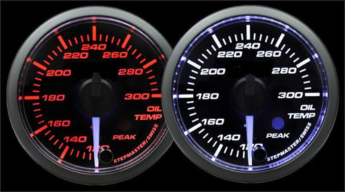 Prosport Premium 52mm Oil Temperature Gauge (216SMWAOTWNCL270-PK.F)