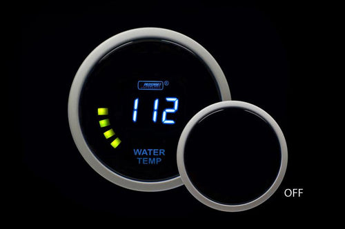 Prosport Digital 52mm Water Temperature Gauge (PSWTLCD-NEW)