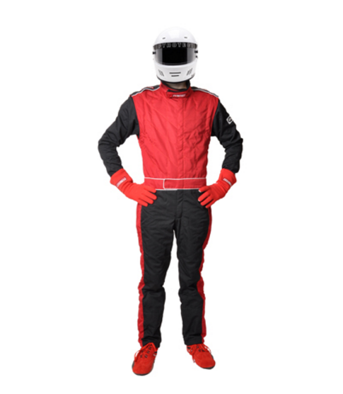 Pyrotect SFI-1 Sportsman Deluxe One Piece Racing Suit - Red (110102)