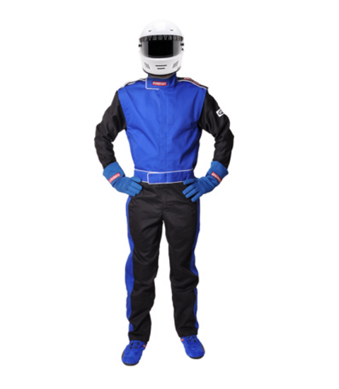 Pyrotect SFI-1 Sportsman Deluxe One Piece Racing Suit - Blue (110103)