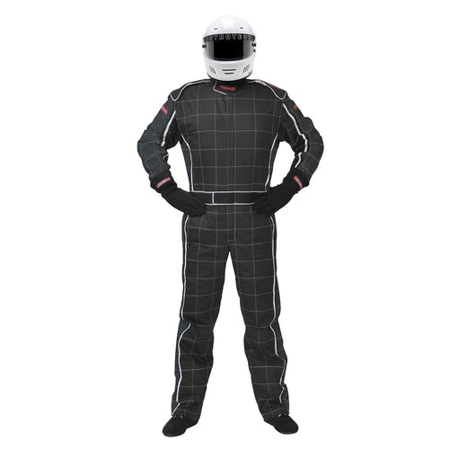 Pyrotect SFI-1 Ultra-1 One Piece Racing Suit - Black/Black (120101)
