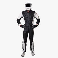 Pyrotect FIA 8856-2000 Pro One 1 Piece Racing Suit - Black (130101)