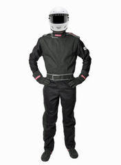 Pyrotect SFI-5 Sportsman Deluxe Nomex One Piece Racing Suit - Black (210101)