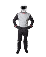 Pyrotect SFI-5 Sportsman Deluxe Nomex One Piece Racing Suit - Grey (210104)