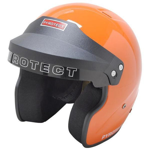 Pyrotect SA2015 Pro Sport Helmet - Open Face/Orange (8130995)