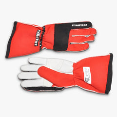 Pyrotect SFI-5 Pro Series 2-Layer Reverse Stitch Racing Gloves - Red (G3020)