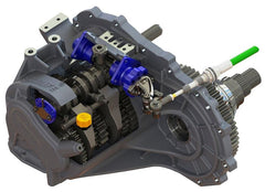 Mitsubishi Lancer Evolution 4-9 Heavy Duty 5-Speed Sequential Gearkit (QBE6U by Quaife)
